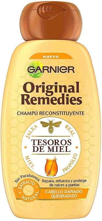 Шампунь для волос - Garnier Original Remedies Tesoros de Miel Shampoo