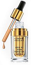 Духи, Парфюмерия, косметика Увлажняющая основа-сыворотка для кожи - Lakme India Absolute Argan Oil Serum Foundation with SPF 45