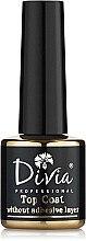 Духи, Парфюмерия, косметика Верхнее покрытие для гель-лака без липкого слоя - Divia Top Coat