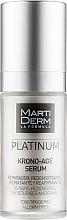 Духи, Парфюмерия, косметика Сыворотка для лица против старения - MartiDerm Platinum Krono-Age Serum