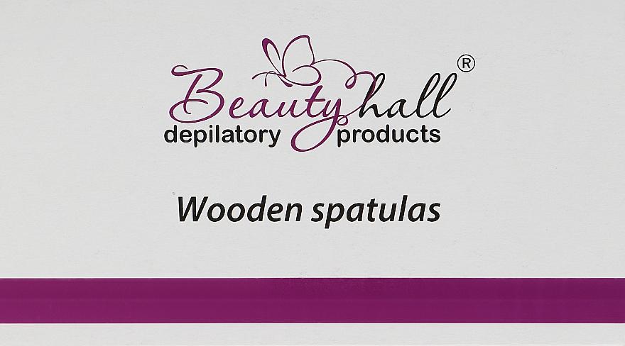 Шпатель деревянный - Beautyhall Wooden Spatulas