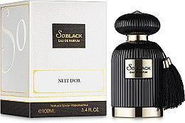 Духи, Парфюмерия, косметика Fragrance So Black World Nuit D'or - Парфюмированная вода