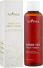 Духи, Парфюмерия, косметика Освежающий тоник с экстрактом зелёного чая - IsNtree Green Tea Fresh Toner