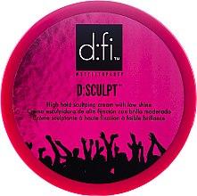 Духи, Парфюмерия, косметика Крем воск для волос - D:fi d:sculpt High Hold Low Shine Hair Sculptor