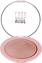 Духи, Парфюмерия, косметика Пудра для лица - Golden Rose Nude Look Sheer Baked Powder