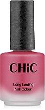 Духи, Парфюмерия, косметика Лак для ногтей - Chic Satin Glam Long Lasting Nail Colour
