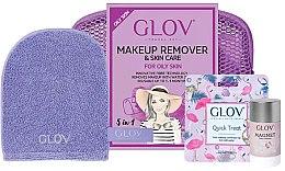 Духи, Парфюмерия, косметика Набор - Glov Expert Travel Set Oily and Mixed Skin (glove/mini/1pcs + glove/1pcs + stick/40g)