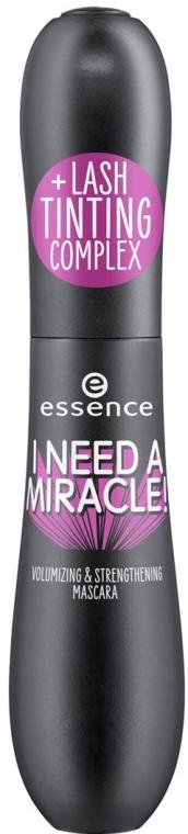 Тушь для ресниц - Essence I Need A Miracle! Volumizing & Strengthening Mascara