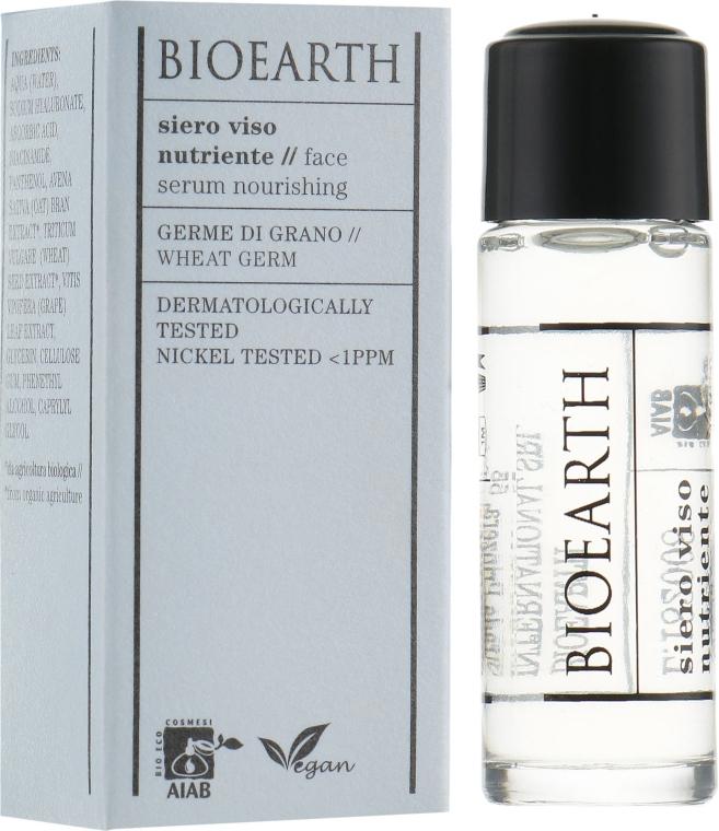 Питательная сыворотка для лица - Bioearth Nourishing Serum
