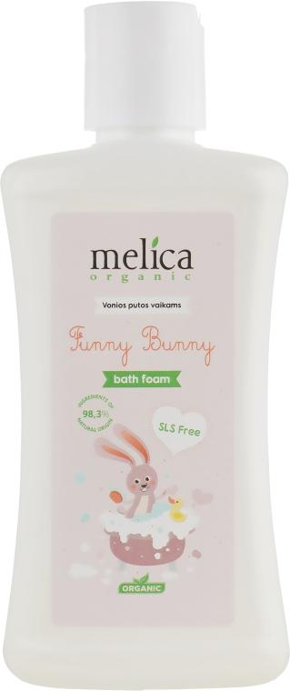 Пена для ванны «Зайчик» - Melica Organic Funny Bunny Bath Foam
