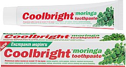 "Духи, Парфюмерия, косметика Лечебная зубная паста ""Экстракт Моринги"" - Coolbright Moringa Toothpaste"