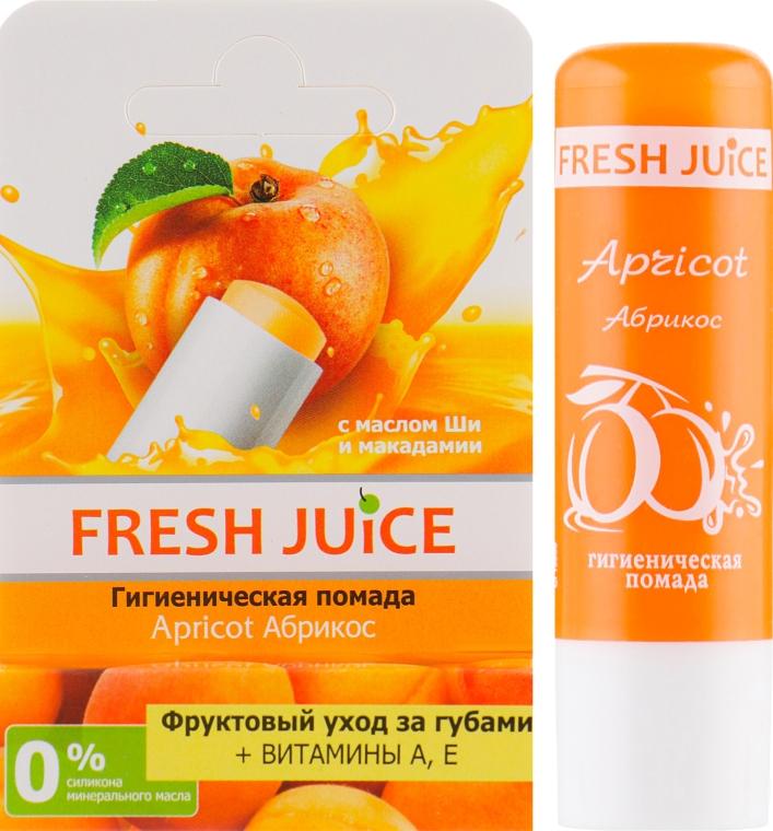 """Гигиеническая помада в упаковке """"Абрикос"""" - Fresh Juice Apricot"""