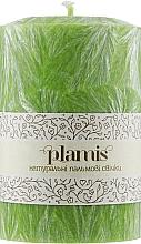 Духи, Парфюмерия, косметика Декоративная пальмовая свеча, молодая листва - Plamis