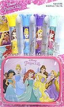 Духи, Парфюмерия, косметика Набор блесков для губ с футляром - Markwins Disney Princess