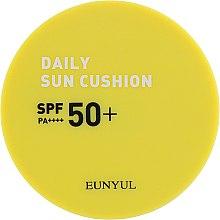Кушон солнцезащитный - Eunyul Daily Sun Cushion SPF 50+ PA++++ — фото N2