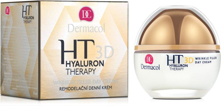 Дневной крем для лица с чистой гиалуроновой кислотой - Dermacol Hyaluron Therapy 3D Wrinkle Day Filler Cream