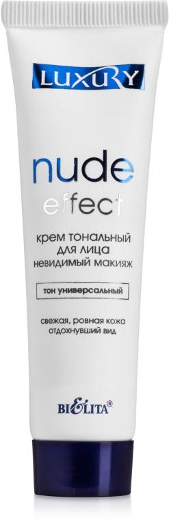 """Крем тональный для лица """"Невидимый макияж"""" - Bielita Nude Effect"""