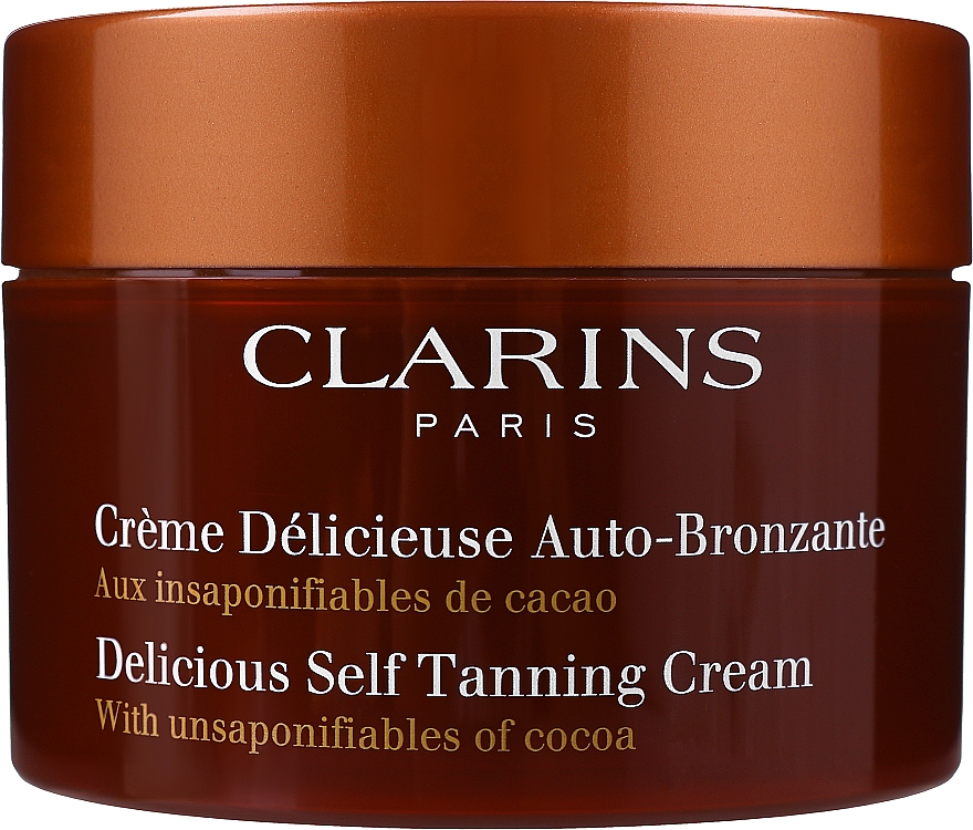 Крем - Clarins Delicious Self Tanning Cream
