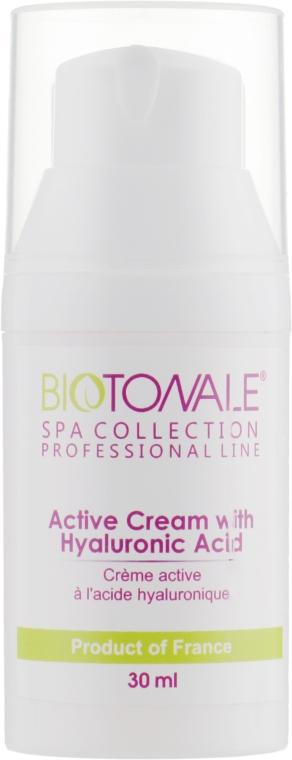 Активный крем с гиалуроновой кислотой - Biotonale Hyaluronic Acid Active Cream