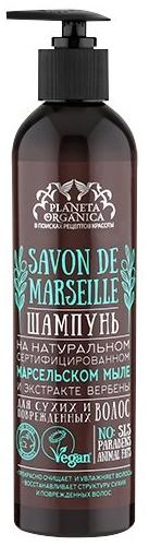 Шампунь для сухих и поврежденных волос - Planeta Organica Savon De Marseille