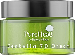 Восстанавливающий крем для кожи лица с экстрактом центеллы - PureHeal's Centella 70 Cream — фото N2