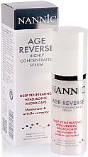 Духи, Парфюмерия, косметика Активная сыворотка с гиалуроновыми микрокапсулами - Nannic Age Reverse Highly Concentrated Serum