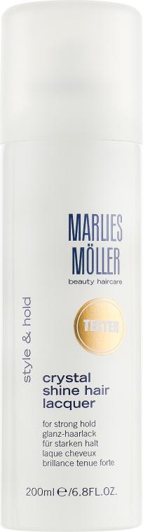 """Лак для волос """"Кристальный блеск"""" - Marlies Moller Crystal Shine Hair Lacquer (тестер)"""