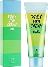 Духи, Парфюмерия, косметика Крем для кожи ног с муцином улитки - J:ON Daily Foot Cream Snail