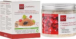 Духи, Парфюмерия, косметика Сахарный скраб для тела с маслом ши и маслом клюквы - GoCranberry
