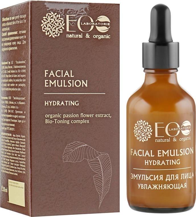 """Эмульсия для лица """"Увлажняющая"""" - ECO Laboratorie Facial Emulsion"""