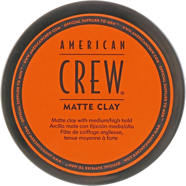 Матирующая глина - American Crew Matte Clay