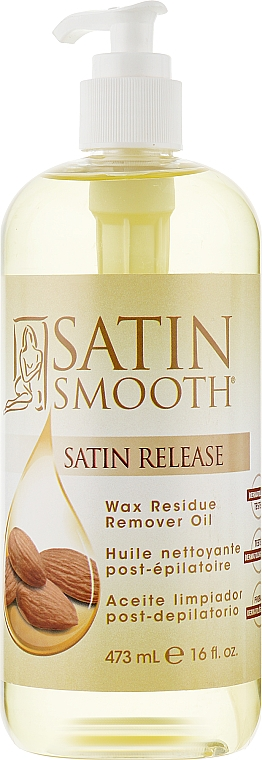 Масло для удаления остатка воска - Satin Smooth Wax Residue Remower Oil