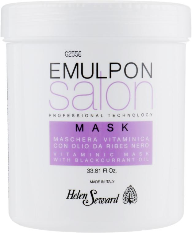 Маска с экстрактами фруктов для волос после химических процедур - Helen Seward Emulpon Salon Vitaminic Mask