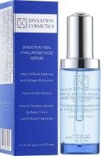 Духи, Парфюмерия, косметика Гиалуроновая сыворотка для лица - Sinsation Cosmetics Hyaluronic Acid Serum 100%