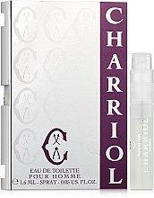 Духи, Парфюмерия, косметика Charriol Eau de Toilette Pour Homme - Туалетная вода (пробник)