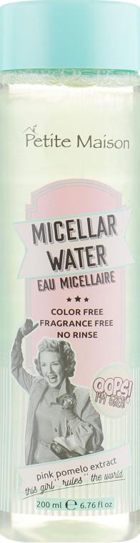 Мицеллярная вода для лица - Petite Maison Micellar Water