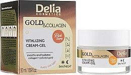 Духи, Парфюмерия, косметика Витализирующий крем-гель для лица - Delia Gold & Collagen Vitalizing Cream-Gel