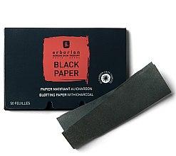 Духи, Парфюмерия, косметика Черные матирующие салфетки с углем - Erborian Blotting Paper With Charcoal