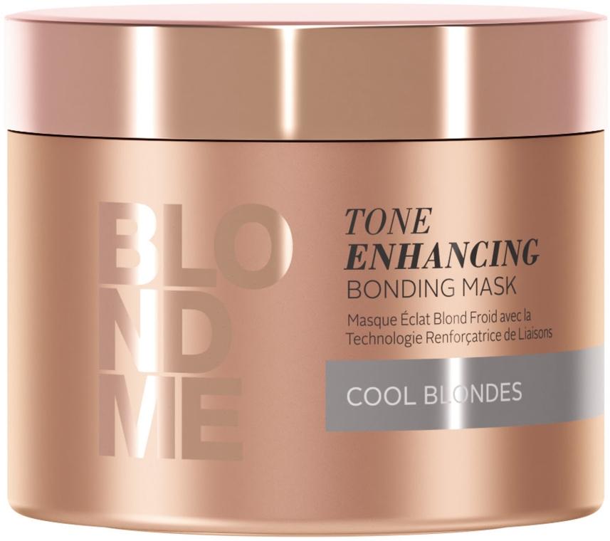 Маска-бондинг для холодных оттенков блонд - Schwarzkopf Professional BlondMe Tone Enhancing Bonding Mask