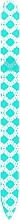 Духи, Парфюмерия, косметика Стеклянная пилочка для ногтей, бирюзовая - Blazek Glass Nail File
