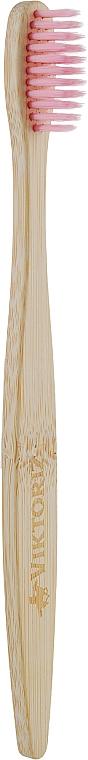 Бамбуковая зубная щетка детская, голубая - Panda Bamboo Products