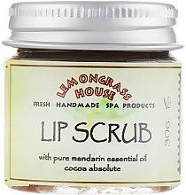 """Духи, Парфюмерия, косметика Скраб для губ """"Какао и мандарин"""" - Lemongrass House Lip Scrub"""