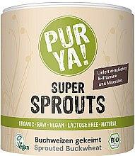 Духи, Парфюмерия, косметика Органическая проросшая гречка - Purya Organic Super Sprouts Sprouted Buckwheat