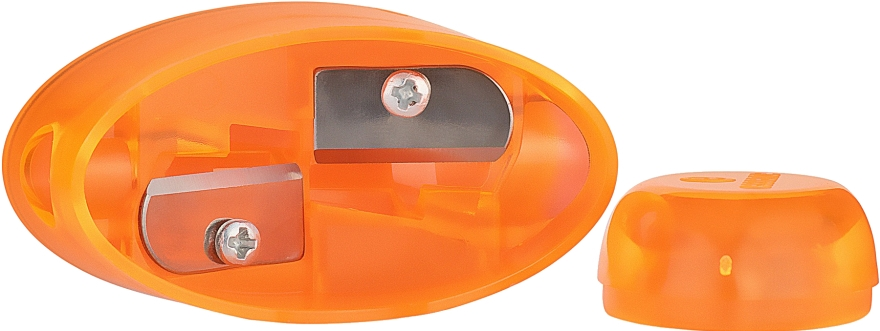 Двойная точилка для карандашей, оранжевая - Essence Sharpener
