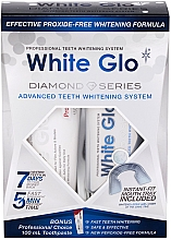 Духи, Парфюмерия, косметика Набор - White Glo Diamond Series Set (toothpaste/100ml + toothgel/50ml)