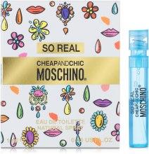 Духи, Парфюмерия, косметика Moschino Cheap and Chic So Real - Туалетная вода (пробник)