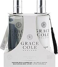 Духи, Парфюмерия, косметика Набор - Grace Cole White Nectarine & Pear (sh/gel/300ml + b/lot/300ml)