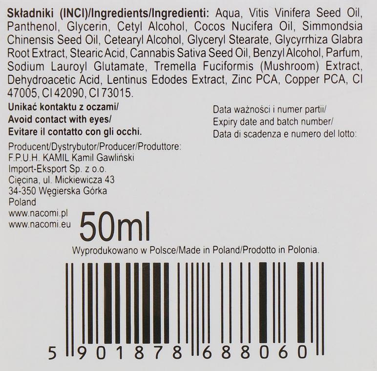 Дневной крем для лица - Nacomi Normalizing Cream 20+ — фото N3