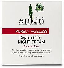 Духи, Парфюмерия, косметика Ночной крем для лица - Sukin Sensitive Night Cream