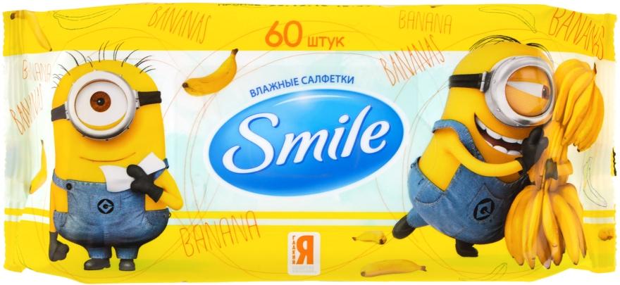"""Влажные салфетки """"Minions"""" - Smile Ukraine Baby"""